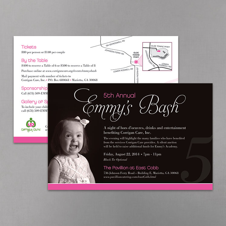 Emmy's Bash Invitation