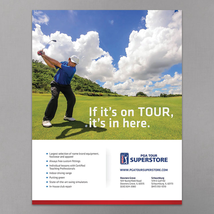 PGA TOUR Superstore BMW Championship Ad